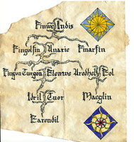 Family trees - Fingolfin by Kimni
