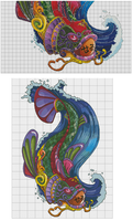 Pattern - Koi for Carla by Darkly-Shaded-Shadow by pinkythepink