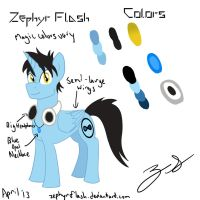 Zephyr Flash Reference Sheet by ZephyrFlash