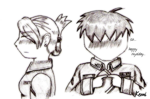 Very late Royai Day scetch by Keoni-chan