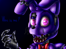 Nightmare Bonnie (Five Nights at Freddy's 4) by ArtyJoyful