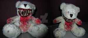 Creepy teddy by MissPoe