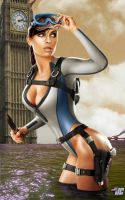 Lara Croft: London's Tomb by GeekArtByZentner