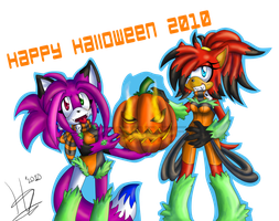 Happy halloween 2010 -com- by Wild-Baguette