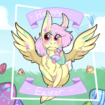 Happy Easter! -giveaway pt 2- by Zakkurro