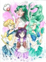 Sailor Scouts Commission: 2 by JAWart728