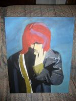 Cobain Oil Painting by FloydFangirl