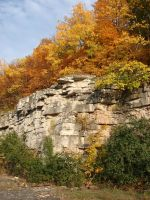 Autumn Cliff Stock Scenery 15 by FantasyStock