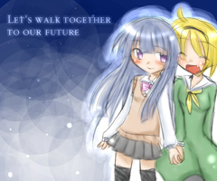 walking with you by maia-7