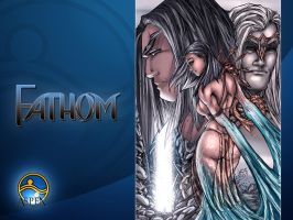 fathom issue 9 variant cover by particle9