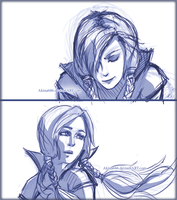 2 frames scetch by AkinaSilver