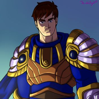 Garen Crownguard by Jeddy017-VZ