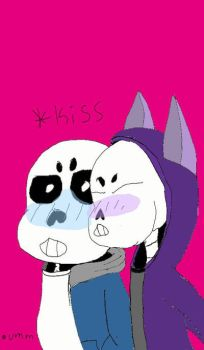 me x sans by WolffyGalaxy