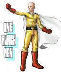 one punch man by EmaZV