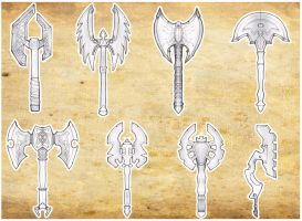 Rough Axe designs by carlos1170