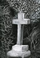 Grave stone sketch by MOxC