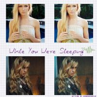 While You Were Sleeping action by wondersmile