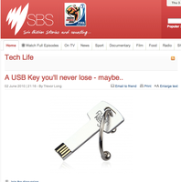 FlashKey Design on SBS by gamesandgigs