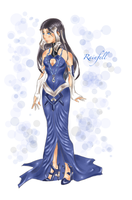 Rainfell personified by Yoakethecat