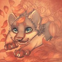 I like leafes :3 by Dyaniart