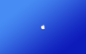 Minimal Apple Logo Wall 4 by atrokrafek