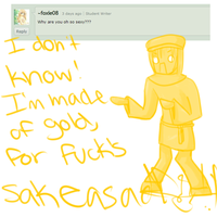 Question 5 - Gold Sexiness by Ask-Gold-Stephano