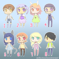 ::Chibi Adoptables, CLOSED:: by The-Jokers-Lover