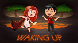 Adorabolical Waking Up by DazeDawning