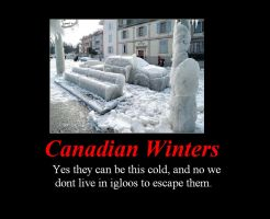 Canada Winters Motivational by Lafire