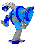 Azure Industries Labor Droid - Ippon-Datara by SilverKazeNinja