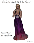 Gnewi's Queen Merem exclusive stock pack by Arlesienne