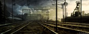 Industrial Railway by Ben-Andrews