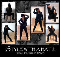 Style with a hat 2 by Mithgariel-stock