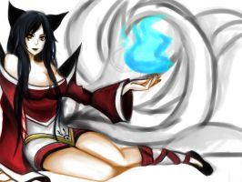 ahri by Jaeger-bomb