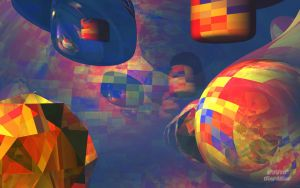 3D Abstract 11 Wide by Don64738