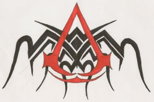 Assassin's Creed Tattoo by EpitaphOfTwilightCe