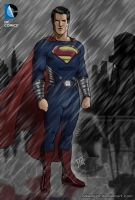 Superman Man of Steel Poster Dawn of Justice by edwinj22