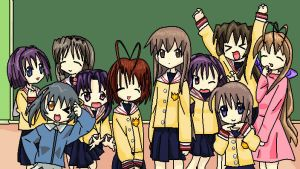 clannad lucky star style by crazy-love2draw