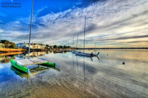 Barwon Heads River Reflections by DanielleMiner