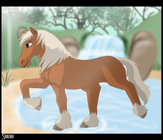 Twilight Princess: Epona by DivineNymph