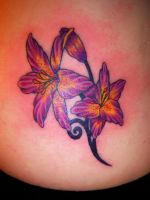 pretty lillys tattoo by AngiePip
