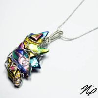 Wire Wrap Fused Glass by Create-A-Pendant