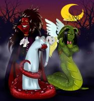 snakes Halloween by greensky222