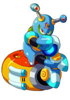 Megaman X9- Crystal Snail by ultimatemaverickx