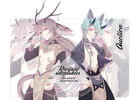 CLOSED  Adoptable Auction by Rhe-Adopts