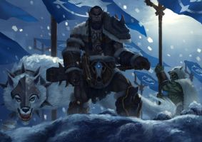 WoW-Rise Of The Horde-Durotan by 93114011