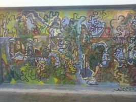mapping wall mural by walleshauserch