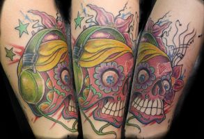 Skully by SimplyTattoo