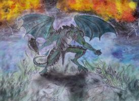 Molag Bal Daedric Lord of Domination (finished) by Spynder4