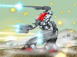 Zentradi Attack by ArtinScott